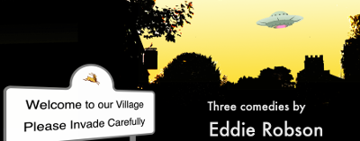 Welcome to our village please invade carefully by Eddie Robson