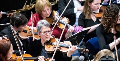 Weber, Brahms, Beethoven violin concerto (soloist Sophie Rosa)