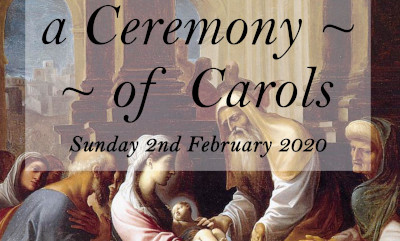 Evensong with a Ceromany of Carols - Britten